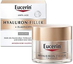 Profumi e cosmetici Crema notte anti-età per il viso - Eucerin Hyaluron-Filler + Elasticity Night Cream