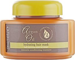Profumi e cosmetici Maschera capelli - Xpel Marketing Ltd Argan Oil Heat Hair Mask