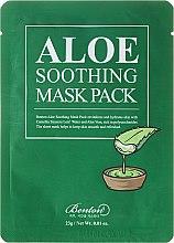 Profumi e cosmetici Maschera viso idratante - Benton Aloe Soothing Mask Pack