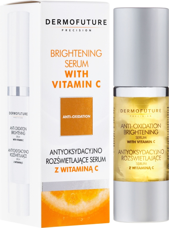 Siero con vitamina C - DermoFuture Brightening Serum With Vitamin C