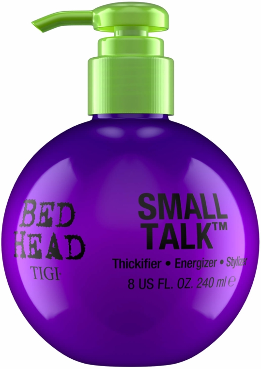 Crema nutriente per lo styling e volume dei capelli - Tigi Bed Head Small Talk 3-in-1 Thickifier