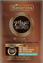 Profumi e cosmetici Fazzoletto abbronzante - Bielenda Magic Bronze Bronze Body