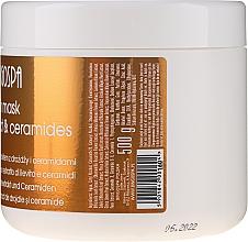 Maschera per capelli con estratto di lievito - BingoSpa Hair Mask From Yeast Extract — foto N2