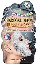 """Profumi e cosmetici Maschera viso a bolle """"Carbone"""" - 7th Heaven Charcoal Detox Bubble Mask"""