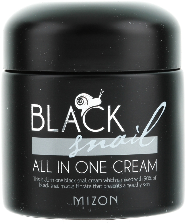 Crema con lumaca nera - Mizon Black Snail All In One Cream  — foto N1