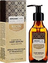 Profumi e cosmetici Siero per la crescita dei capelli - Arganicare Castor Oil Hair Serum
