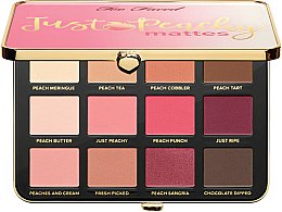 Profumi e cosmetici Palette ombretti - Too Faced Just Peachy Mattes
