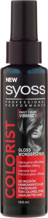 Spray brillante per capelli tinti - Syoss Colorist Gloss Wonderspray Hair Spray