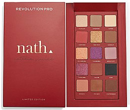 Profumi e cosmetici Palette ombretti - Makeup Revolution Pro X Nath Eyeshadow Palette