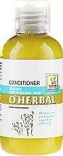 Profumi e cosmetici Condizionante per capelli secchi e opachi con estratto di lino - O'Herbal