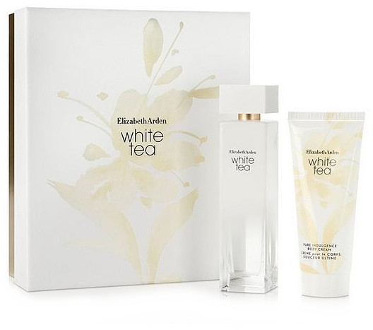 Elizabeth Arden White Tea - Set (edt/100ml + b/cr/100ml) — foto N1