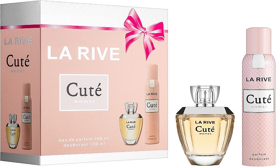 La Rive Cute Woman - Set (edp/100ml + deo/150ml)