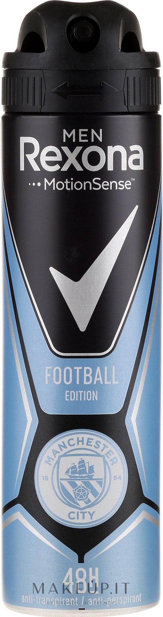 Antitraspirante-spray - Rexona Manchester City Spray — foto 150 ml