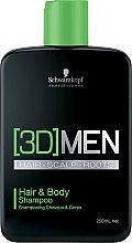 Profumi e cosmetici Shampoo per capelli e corpo - Schwarzkopf Professional 3D Mension Hair & Body Shampoo