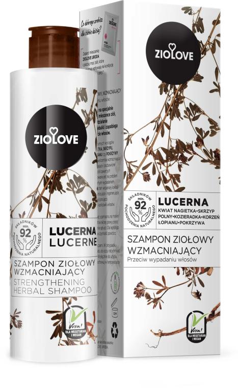 "Shampoo rassodante ""Alfalfa"" - Ziolove"