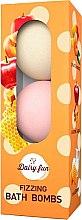 Profumi e cosmetici Bombe da bagno - Delia Dairy Fun Fizzing Bath Bombs