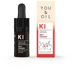 Profumi e cosmetici Miscela di oli essenziali - You & Oil KI-Dry Cough Touch Of Welness Essential Oil