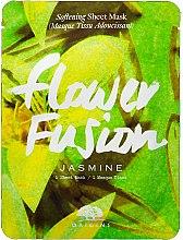 Profumi e cosmetici Maschera in tessuto ammorbidente al gelsomino - Origins Flower Fusion Jasmine Softening Sheet Mask