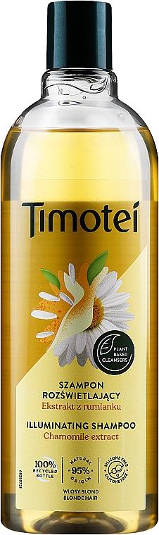 """Shampoo-condizionante """"Rosa di Gerico con camomilla"""" - Timotei Golden Highlights Shampoo  — фото N1"""