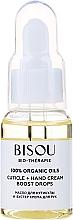 Profumi e cosmetici Olio cuticole e crema-booster mani - Bisou Bio-Therape