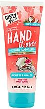 Profumi e cosmetici Crema mani al cocco - Dirty Works Coconut Hand Cream