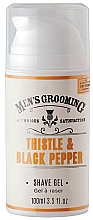 Profumi e cosmetici Gel da barba - Scottish Fine Soaps Men's Grooming Thistle & Black Pepper Shaving Gel