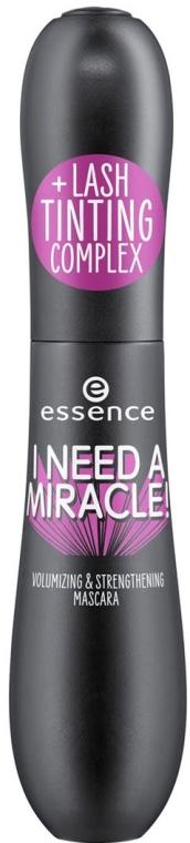 Mascara - Essence I Need A Miracle! Volumizing & Strengthening Mascara