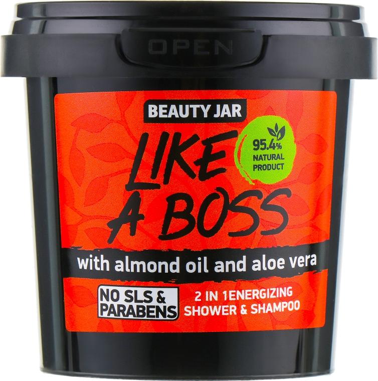 Shampoo-gel doccia Like A Boss - Beauty Jar 2 in 1 Energizing Shower & Shampoo