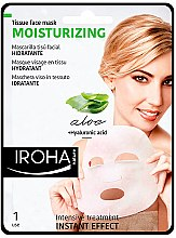 Profumi e cosmetici Maschera viso in tessuto - Iroha Nature Moisturizing Aloe Tissue Face Mask