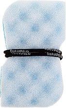 Profumi e cosmetici Spugna massaggiante, blu - Suavipiel Black Aqua Power Massage Sponge