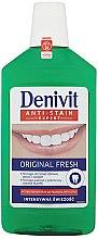 Profumi e cosmetici Collutorio antibatterico - Denivit Anti-Stain Expert Original Fresh