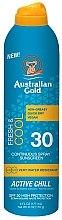 Profumi e cosmetici Spray solare rinfrescante - Australian Gold Freash&Cool Continuous Spray Sunscreen SPF30