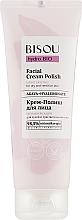 """Profumi e cosmetici Crema-polish """"Idratante"""" - Bisou Hydro Bio Facial Cream Polish"""