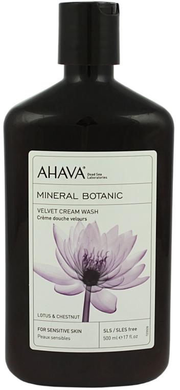 "Crema doccia ""Loto e Castagna"" - Ahava Mineral Botanic Velvet Cream Wash Lotus Flower & Chestnut — foto N1"