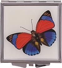 """Profumi e cosmetici Specchio cosmetico, """"Farfalle"""" 85420, rosso-blu - Top Choice"""