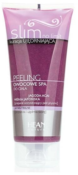 """Peeling corpo """"Spa di frutta Acai Berry e ciliegia giapponese"""" - Hean Slim No Limit Body Pelling"""