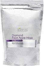 Profumi e cosmetici Maschera viso alle alghe di diamante (ricarica) - Bielenda Professional Diamond Face Algae Mask