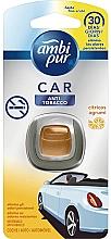 """Profumi e cosmetici Deodorante per auto """"Anti-tabacco"""" - Ambi Pur"""