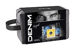 Profumi e cosmetici Denim Original - Set (ash/lot/100ml + deo/150ml + bag)
