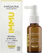Profumi e cosmetici Spray orale rinfrescante e protettivo - Madara Cosmetics IMMU Refresh & Protect Mouth Spray