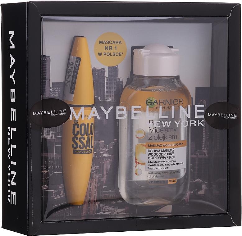 Set - Maybelline (mascara/10.7ml + micellar water/100ml)
