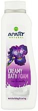 "Profumi e cosmetici Bagnoschiuma ""Iris e vaniglia"" - Apart Natural Body Care Bath Foam"