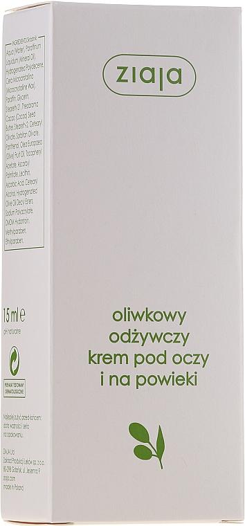 Crema pelle contorno occhi - Ziaja Natural Olive Eye Cream