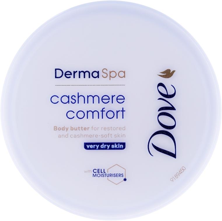 Crema-maschera viso - Dove DermaSpa Cashmere Comfort Body Butter