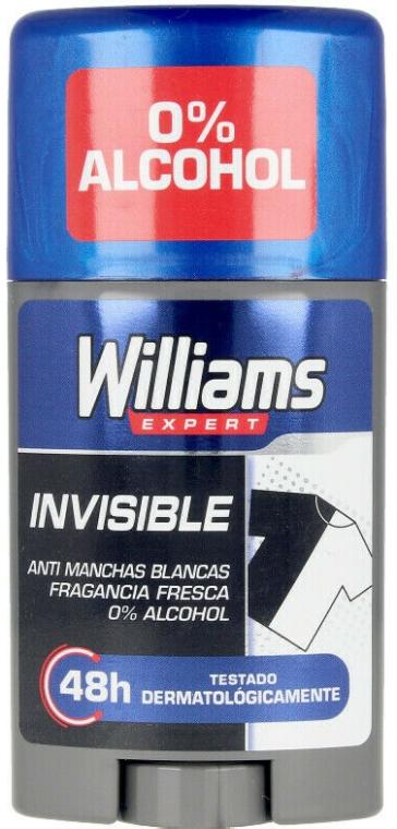 Deodorante-stick - Williams Expert Invisible Deodorant Stick