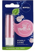 """Profumi e cosmetici Balsamo labbra """"Pearl shine"""" - Nivea Lip Care Pearl & Shine Limited Edition"""