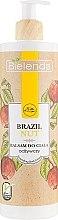 "Profumi e cosmetici Balsamo corpo ""Noce brasiliana"" - Bielenda Brazil Nut Balsam"