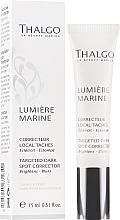 Profumi e cosmetici Correttore per macchie dell'età - Thalgo Lumiere Marine Targeted Dark Spot Corrector