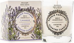 Profumi e cosmetici Candela profumata - Panier Des Sens Decorative Scented Candle In Lavender Glass