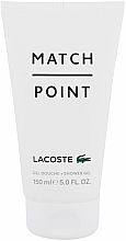 Profumi e cosmetici Lacoste Match Point - Gel doccia